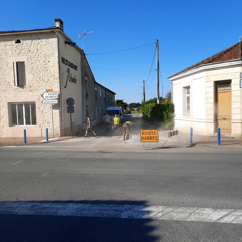 Travaux Rue Roger Mano